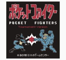 Sticker! Pocket Fighters by merimeaux