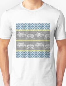 Knitted Space Invaders Unisex T-Shirt