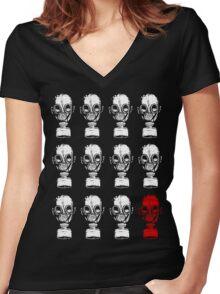 11 + 1 Women's Fitted V-Neck T-Shirt