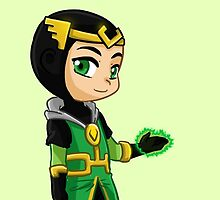 YA Chibi Kid Loki by artsy-alice
