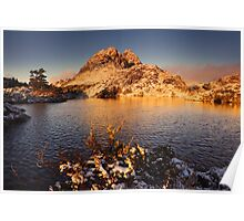 Twisted Lakes Sunrise - Cradle Mountain N.P. Poster