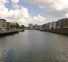 Dublin River Liffey by BritishYank