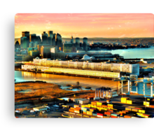 Boston Sea Cruise  Canvas Print