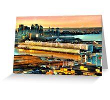 Boston Sea Cruise  Greeting Card