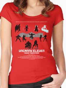 Uncanny 11 Women's Fitted Scoop T-Shirt