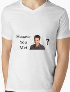 Haaave you met Ted? Mens V-Neck T-Shirt