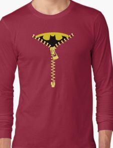 Batmen Zip Long Sleeve T-Shirt
