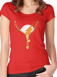 Flash Zip Women's Fitted Scoop T-Shirt
