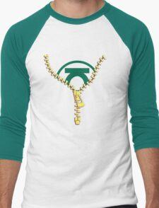 The Green Lantern zip Men's Baseball ¾ T-Shirt