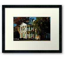 Carnton Plantation.... Framed Print