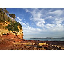 Bar Beach at Merimbula Photographic Print