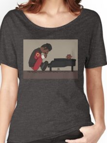 Demo Man Peanuts Style  Women's Relaxed Fit T-Shirt