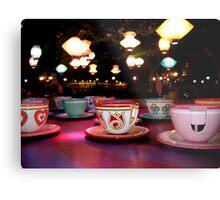 tea cups of delight Metal Print