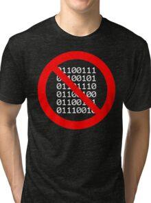 No Gender Binary (Black) Tri-blend T-Shirt