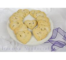 Lavendar Shortbread Photographic Print