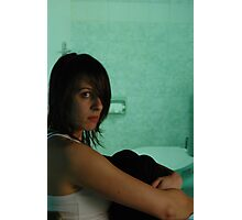you have a nerve - hotel room series Photographic Print