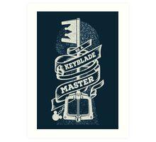 Be a Keyblade Master Art Print
