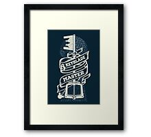 Be a Keyblade Master Framed Print