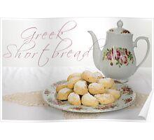 Greek Shortbread Poster