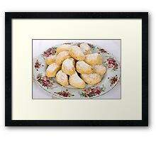 Greek Shortbread Framed Print