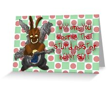 Chocolate Frank Easter Edition Greeting Card