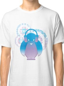 PENGUIN WITH HEADPHONE Classic T-Shirt