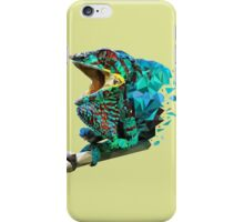 Low poly chameleon iPhone Case/Skin