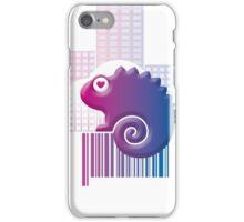 CHAMELEON ON BARCODE: II iPhone Case/Skin