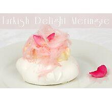 Turkish Delight Meringue Photographic Print