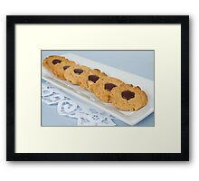 Snickers Cookies Framed Print