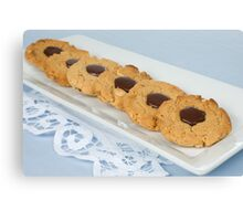 Snickers Cookies Canvas Print