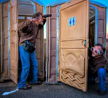 The Amazing Adventures of Lens Head and Goggle Boy  Episode 1: Bathroom Humor by Bob Larson