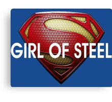 Supergirl Girl Of Steel 2015 Canvas Print
