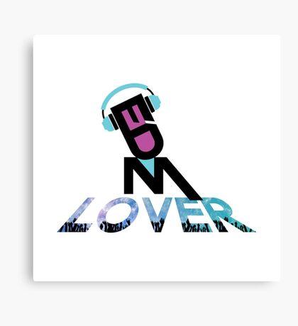 DJ EDM Lover-lbp Canvas Print