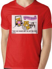 Forever Friends? Mens V-Neck T-Shirt