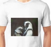 African Black-footed Penquin-Signed-#8081 Unisex T-Shirt
