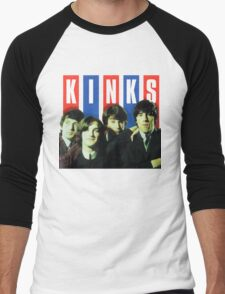 The Kinks T-Shirt Men's Baseball ¾ T-Shirt