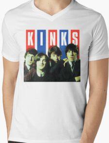 The Kinks T-Shirt Mens V-Neck T-Shirt