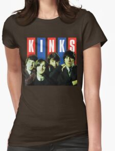 The Kinks T-Shirt Womens Fitted T-Shirt