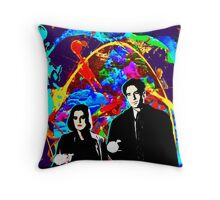 Scully & Mulder Throw Pillow