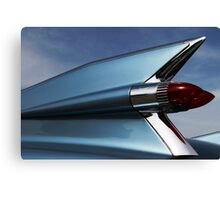 Blue '59 Fin Canvas Print