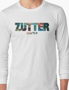 Bigbang GD & TOP 'ZUTTER' Typo 3 Long Sleeve T-Shirt