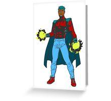 X-men custom character - Paz Greeting Card