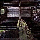 Mayne Island Abandoned Cabin - Interior by toby snelgrove  IPA