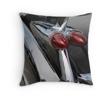 Black '59 Fin Throw Pillow