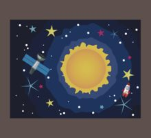 Sun in the Space Kids Clothes