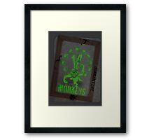 12 Monkeys Dark Framed Print