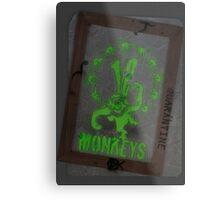 12 Monkeys Dark Metal Print