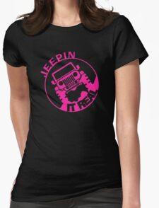 Jeepin it Real pink logo T-Shirt