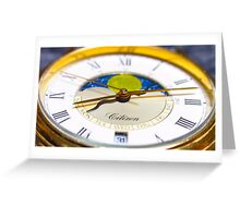 Tick Tock Greeting Card